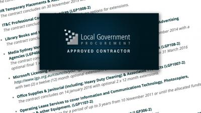 Image of LGP Approved Contractor logo