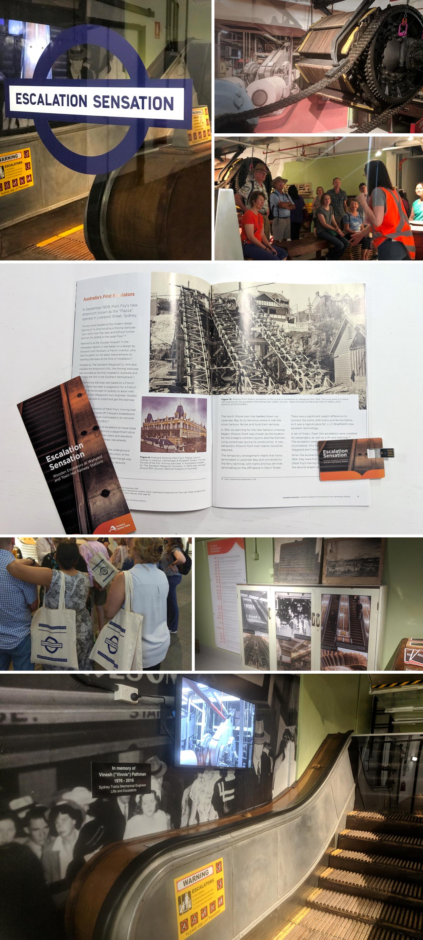 Sydney Trains – Escalator Museum
