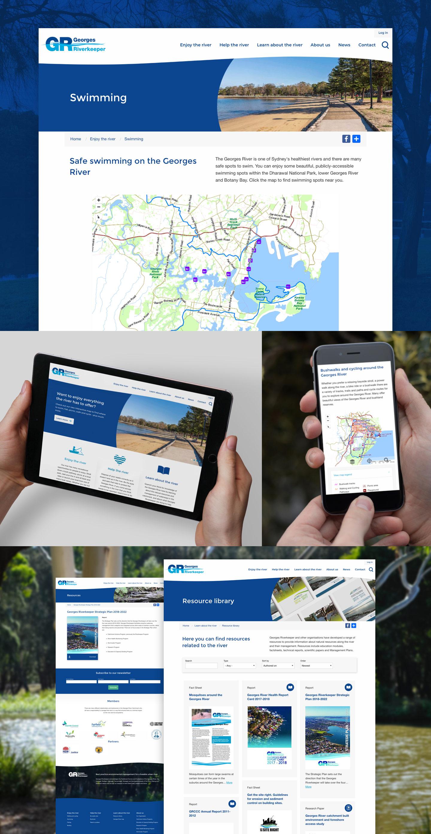 Georges Riverkeeper Website