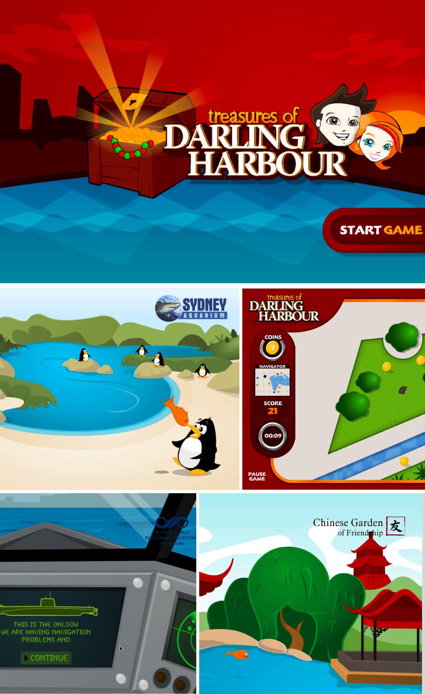 treasures of Darling Harbour game