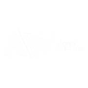 albury wodonga white logo