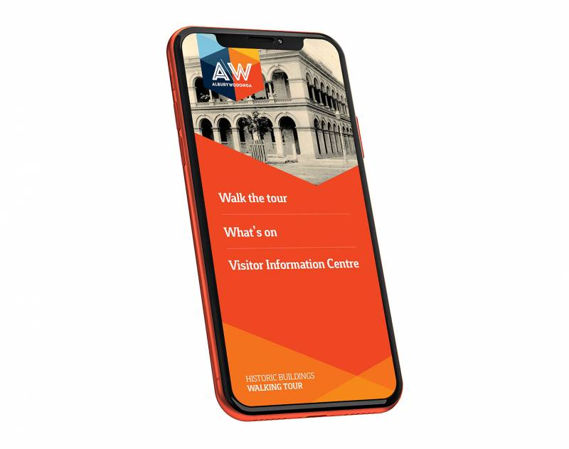 Albury Walking Tour App