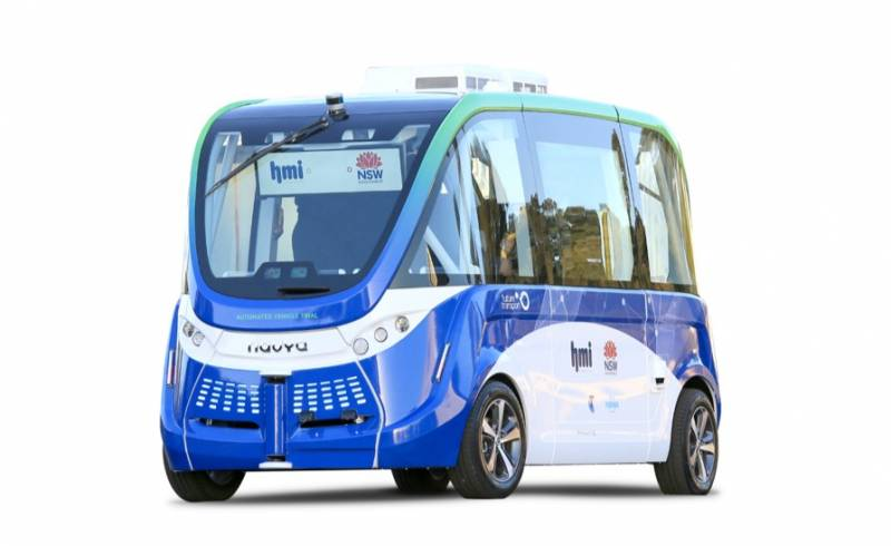 HMI Autonomous Vehicle NSW Launch